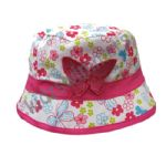 Girls Bush Hat Butterfly Design